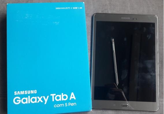 Tablet Samsung Tab A Com S Pen 16gb 4g -função Telefone