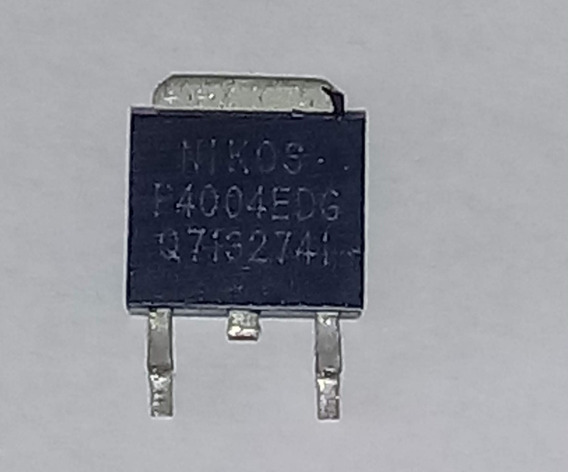 Kit 3 P4004edg + 3 P2504bdg Transistor Fet Smd