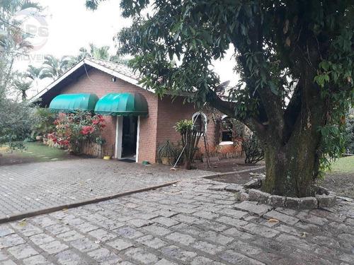 Chácara Com 2 Dormitórios À Venda, 7267 M² Por R$ 1.300.000,00 - Sítios De Recreio Colina - Indaiatuba/sp - Ch0662