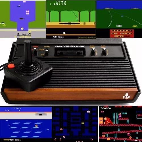 Todos Os Jogos Atari (1442) Retrô Vintage Emulador Pc