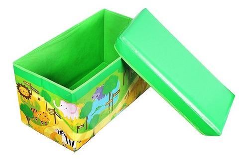 Baul Caja Guarda Juguetes Y Mas Infantil Niños Ref: Kdr7209