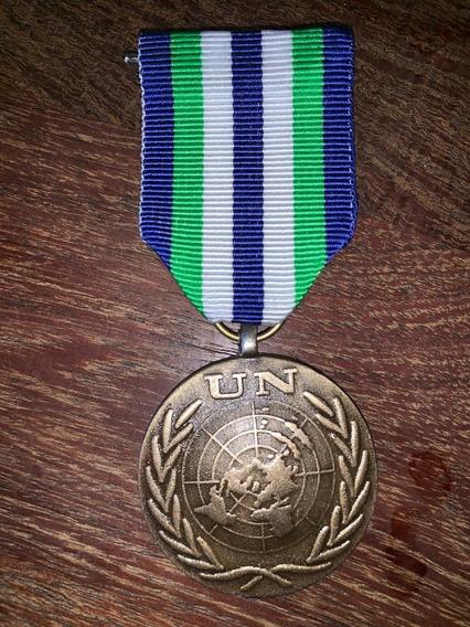 Medalla Minustah Naciones Unidas Haiti