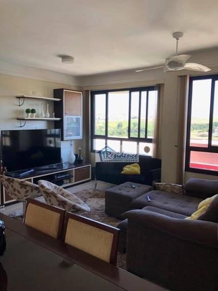 Lindo Apartamento Com Ótima Vista Para O Parque Ecológico. - Ap0307