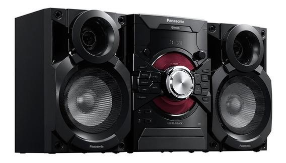 Equipo De Sonido Panasonic Sc-akx18 3900 Watts Bt Mp3 Usb