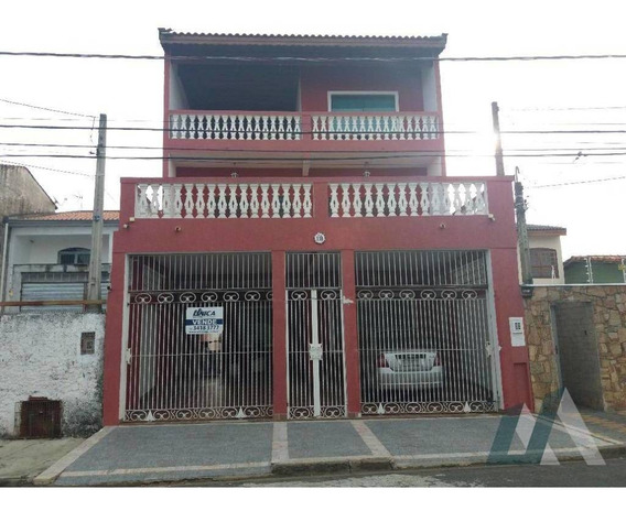 Sobrado Comercial Ou Residencial Com 4 Dormitórios À Venda, 303 M² Por R$ 450.000 - Wanel Ville - Sorocaba/sp - So0441