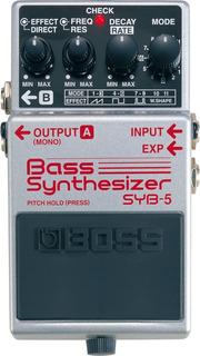 Pedal Sintetizador Bajo Boss Syb-5 Bass Synthetizer Syb5