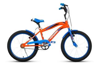 Bicicleta Topmega Cross Bmx Rodado 20 Varon Niño