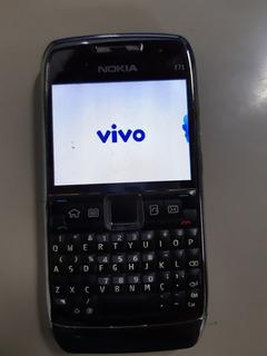 Celular Nokia E71 Operadora Vivo Sem Acessórios