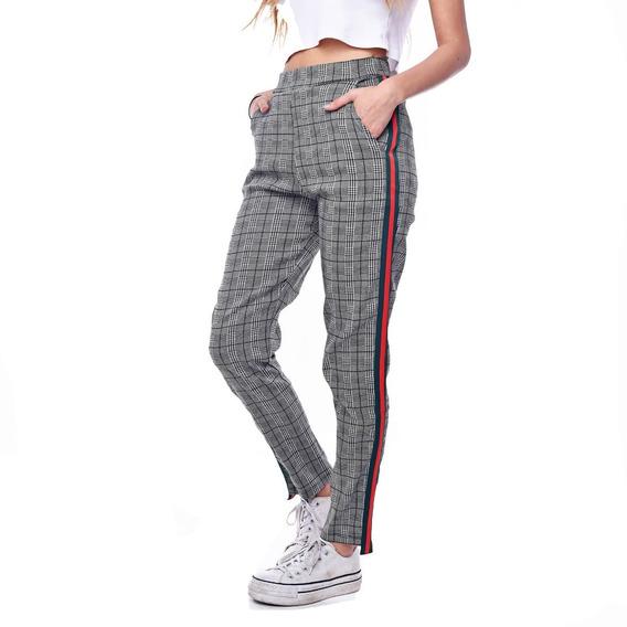 Customs Ba Calzas Mujer Pantalones Mujer De Vestir Rayas Ver