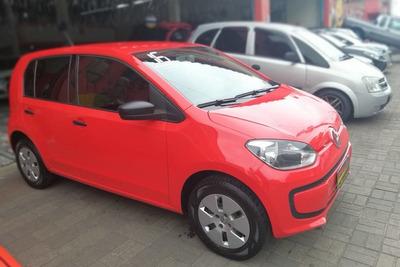 Volkswagen Up! 1.0 Take 5p 2015/2016 Vermelho