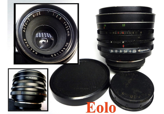 Lente Kalimar 35mm F2,8 Rosca M 42 *leia* Ñ P/ Leica Cx15