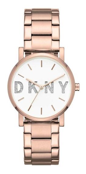 Reloj Dkny Dama Ny2654 Original Estilo Soho