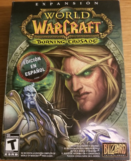 World Of Warcraft Burning Crusade Pc Fisico Nuevo Abasto