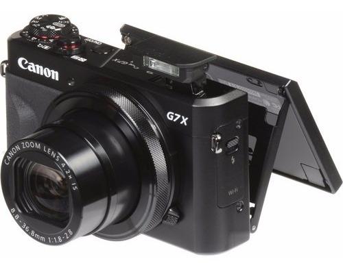 Câmera Canon Pow. G7x Mark Ii, Envio(pb,ce,al,se,pe)só Aéreo