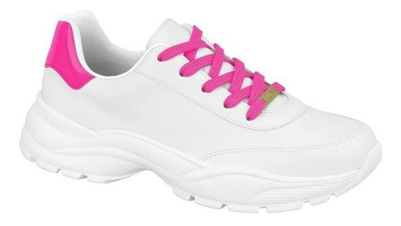 Tênis Casual/esportivo Vizzano Branco E Pink