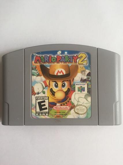 Cartucho Jogo Mario Party 2 Original