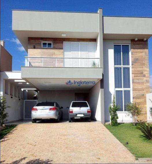 Casa Com 4 Dormitórios À Venda, 208 M² Por R$ 820.000,00 - Jardim Morumbi - Londrina/pr - Ca1034