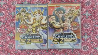 Os Cavaleiros Do Zodiaco Anime Dvd Volume 9 E 10