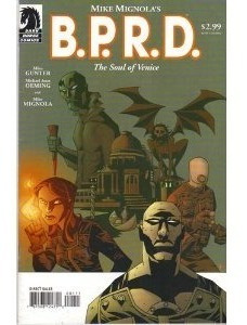 Bprd The Soul Of Venice (2003) Dark Horse Hellboy