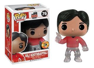 Juguete Colección Funko Pop Television Raj Star Trek Red S ®
