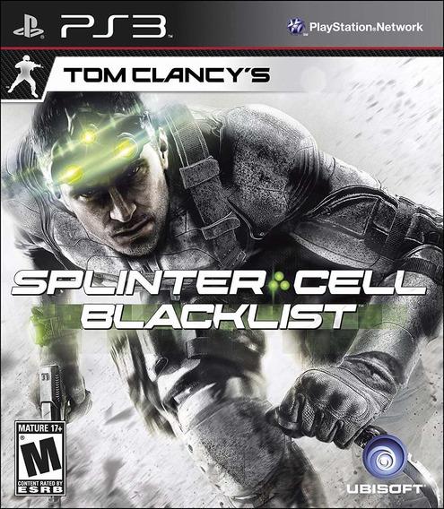 Splinter Cell Blacklist Ps3 | Mídia Física Original