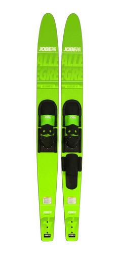 Esqui Combo Allegre Jobe Verde Limão 170cm