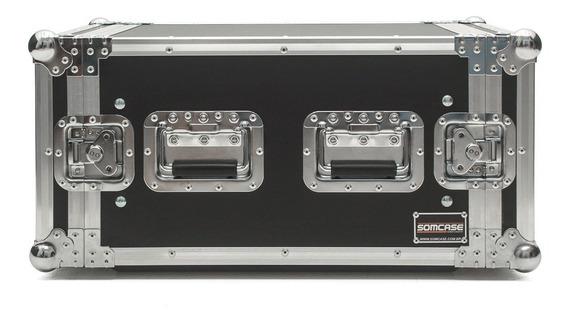 Hard Case Rack 8u Amplificadores Potência