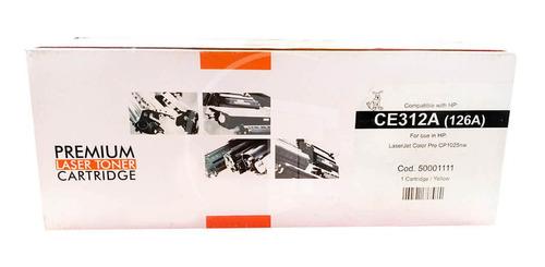 Toner Hp Generico 126a Ce312a Amarillo Cp1025 Premium