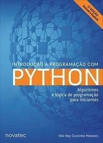 Introdução À Programação Com Python 3ª Edição Edit.novatec