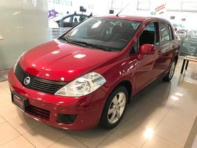 Nissan Tiida Advance 2016 Estandar Rojo