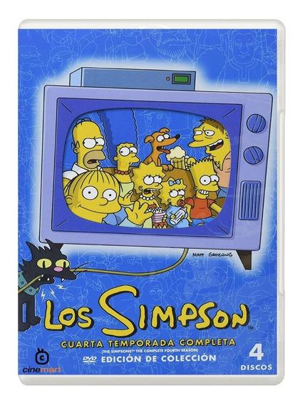 Los Simpson Cuarta Temporada 4 Serie Dvd