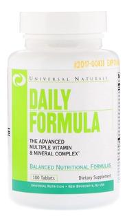 Multivitaminico Daily Formula Universal 100tabs - Lacrado