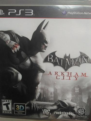 Batman Arkham City Ps3 , Midia Fisica , A Pronta Entrega