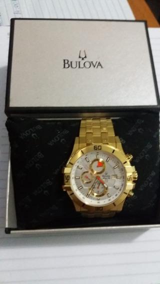 Relógio Bulova Marine Star Gold 18k
