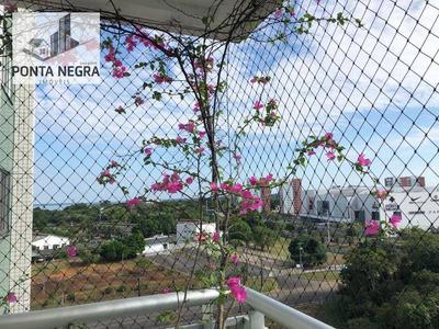 Apartamento Residencial Para Locação, Ponta Negra, Manaus - Ap0364. - Ap0364