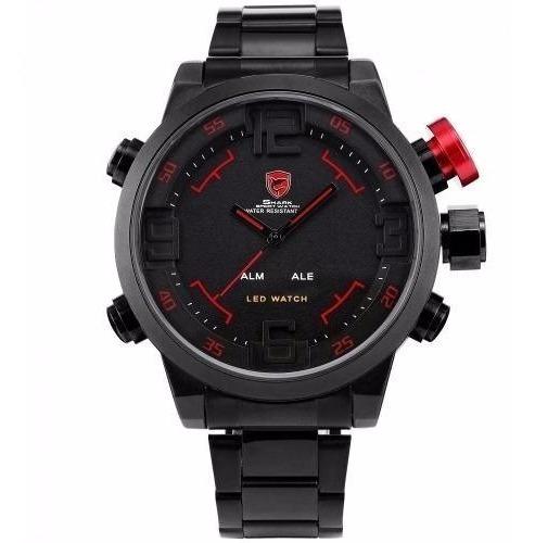 Relógio Original Shark Watch Militar Led Provad