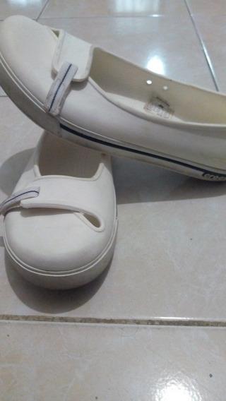 Zapatos Crocs De Mujer #6 Blancos