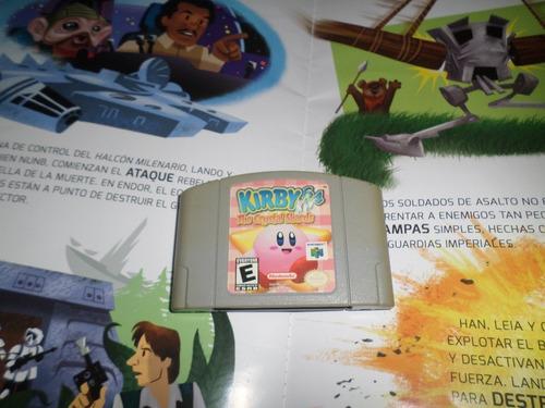 Juego ,nintendo 64, Kirby,original