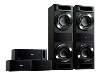 Sistema De Sonido 5.0 - Home Theater Pionner Srs88tb