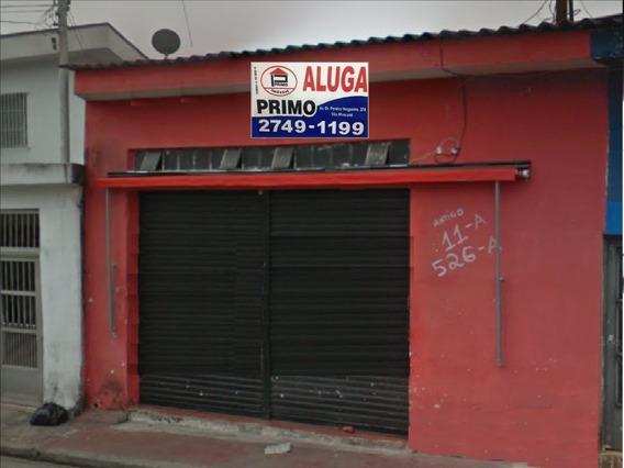 L547 - Salão Comercial Cidade Patriarca 54m2 Aceita Caução