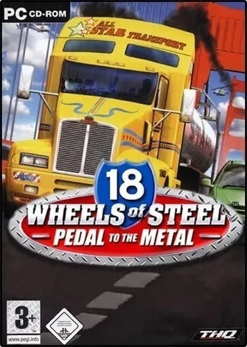 18 Wheels Pedal To The Metal Em Português - Pc
