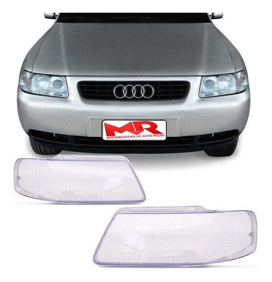 Lente Farol Audi A3 2000 2001 2002 2003 2004 2005 2006 Padrao Original