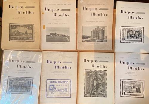 Uruguay Filatélico, Revista, Década 50, 300 Cada Una, Rba