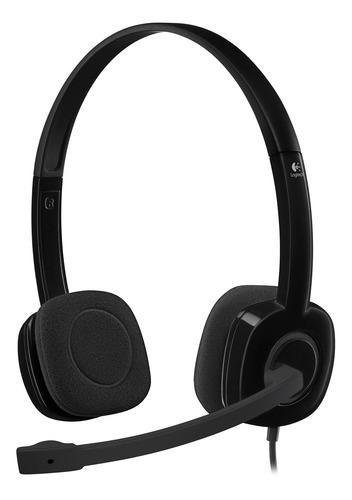 Headset Stereo Logitech H151 - 981-000587