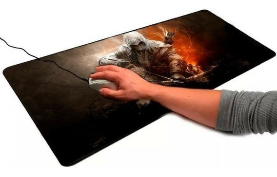 Mousepad Pc Gamer 70x35 Estampado Tapete Assassins Creed