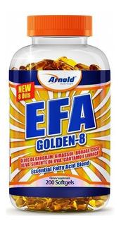 Efa Goldens 200 Softgels - Arnold Nutrition Com Nota Fiscal