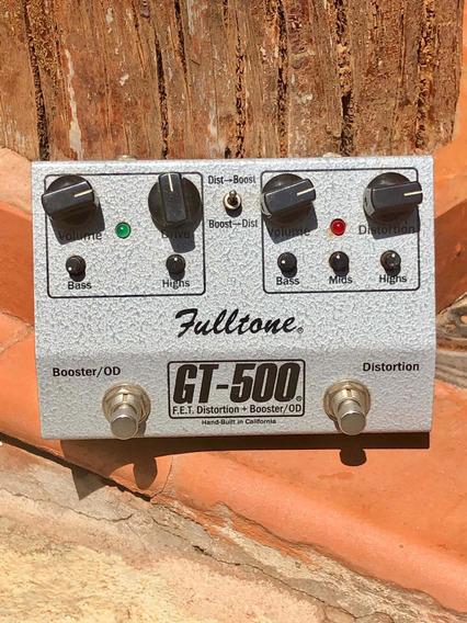 Pedal Fulltone Gt 500 Edição Limitada Distortion / Booster