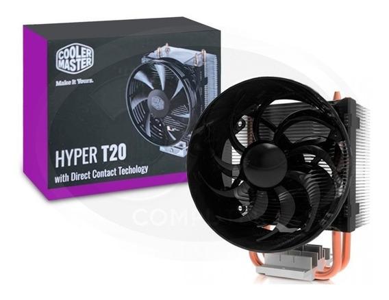 Cooler Hyper T20 Com 2 Heat Pipes Cobre P/ Cpu Amd E Intel