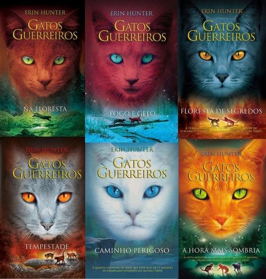 Coleção Gatos Guerreiros - 6 Volumes