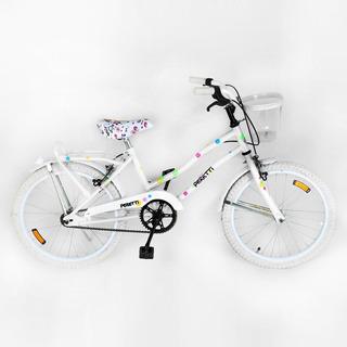 Bicicleta Peretti Rod20 Playera Dama Blanca